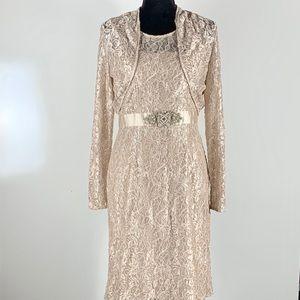 Jessica Howard dress and bolero size 2